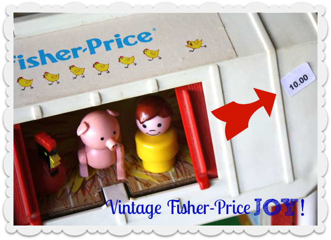 Vintage Fisher Price Loft - Yesterday on Tuesday
