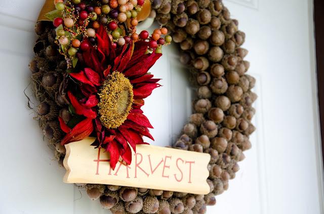 Fall Acrorn Wreath
