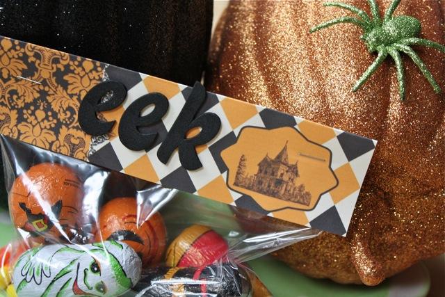 Free Halloween Treat Bag Printables - Yesterday on Tuesday