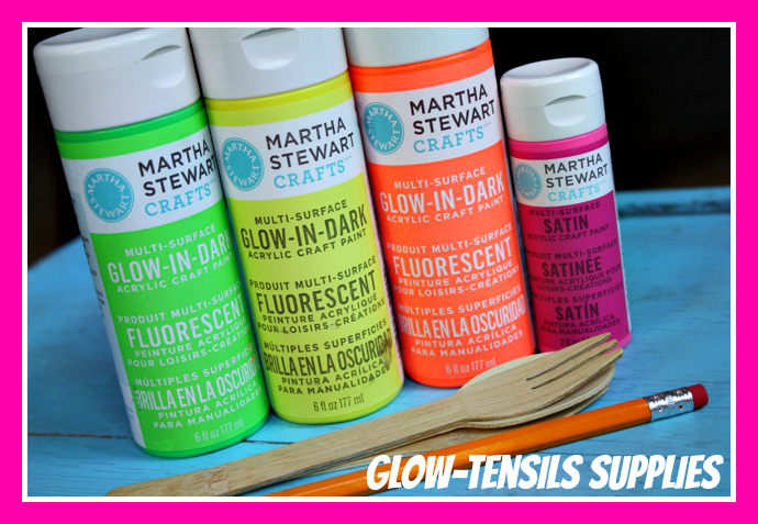 Glow-Tensils Supplies - Yesterday on Tuesday