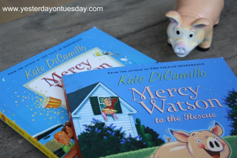 Mercy Watson Books - Yesterday on Tuesday #mercywatson #pigparty