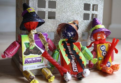 Candy Witches - Yesterday on Tuesday #halloween