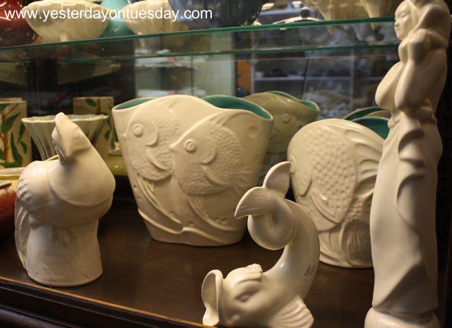 White Vintage Pottery - Yesterday on Tuesday
