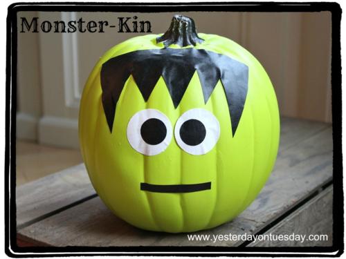 instagram picture contest ideas - 4 Not So Spooky No Carve Pumpkin Ideas