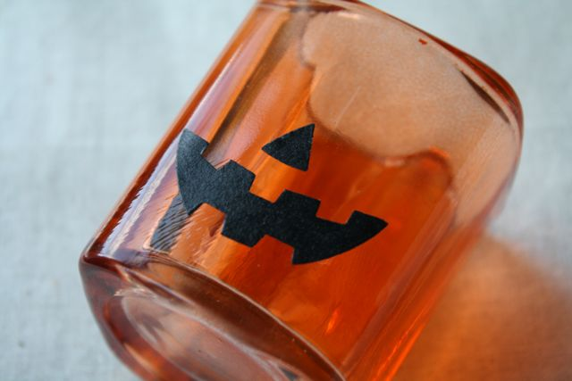 Pumpkin Treat Holder Face - Yesterday on Tuesday #halloween