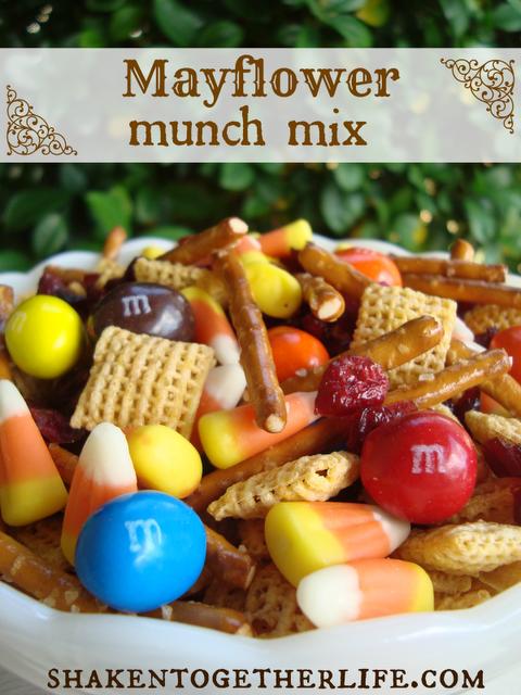 Mayflower munch mix BLOG