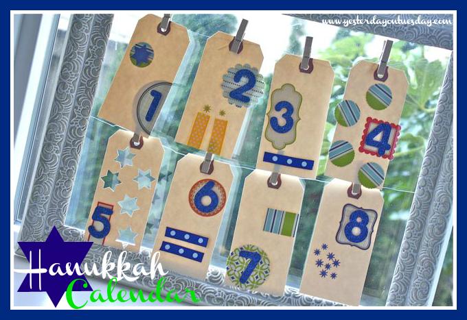 Hanukkah Calendar - Yesterday on Tuesday #hanukkah