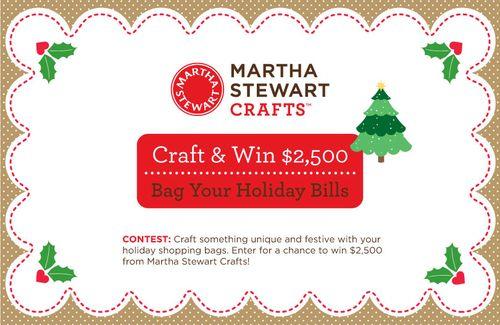 Martha Stewart Crafts Contest