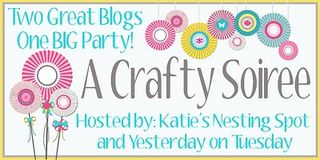 Crafty Soiree #120 & A Glitter Giveaway!