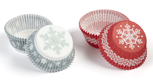 Snow Lace Treat Wrappers - Martha Stewart Crafts