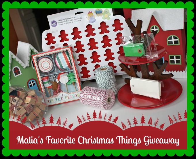 Malia's Favorite Christmas Things Giveaway - YoT