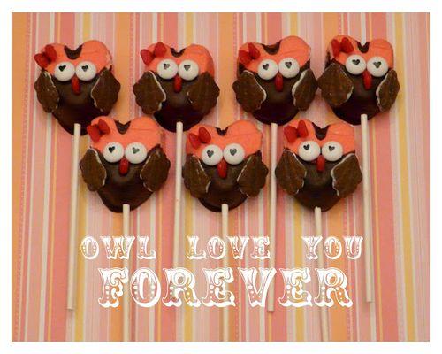 Owl Valentine Treats - Rook No.17