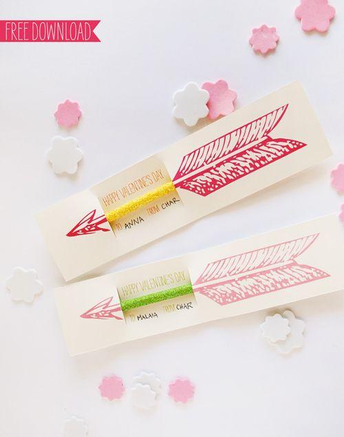 Valentine Pencil Prinatble - Sweet Muffin Suite