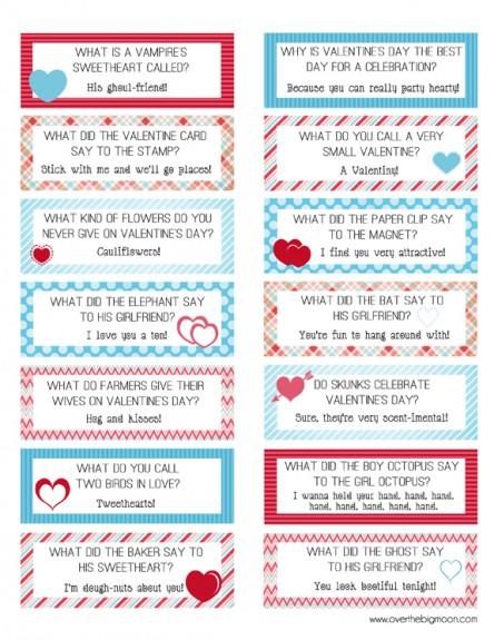 Valentine Lunch Box Cards