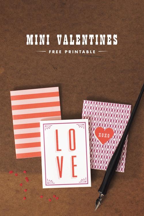 Mini Valentines - A Pair of Pairs