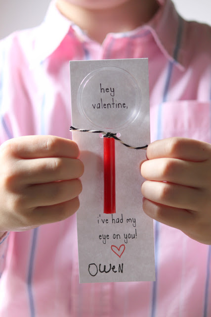 Magnifying Glass Valentines -Dandee Designs #dandeedesigns #valentines #kidsvalentines #valentinesday