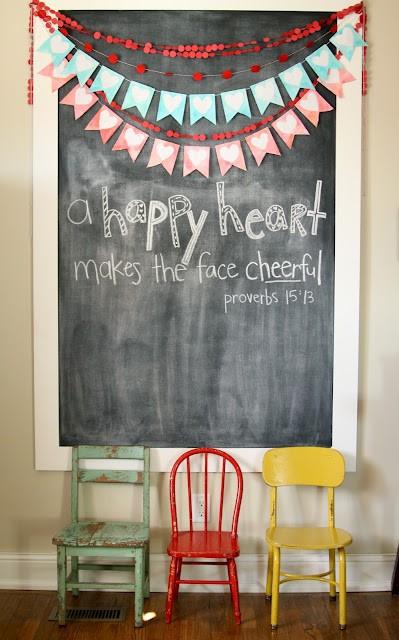Happy Heart Banner
