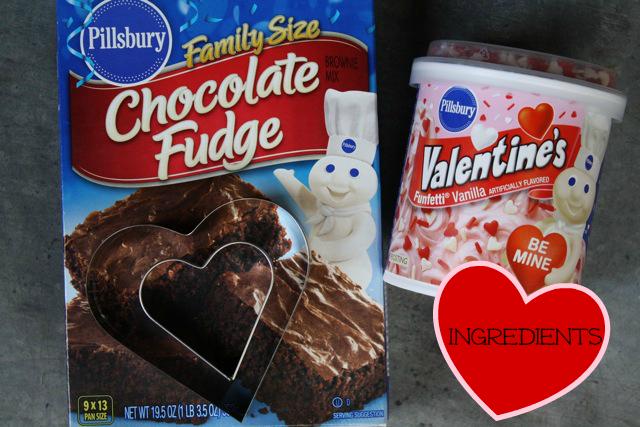 Sweet Heart Brownies - YoT #valentinesday #brownies