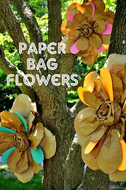 Paper Bag Flowers - Shannanigans