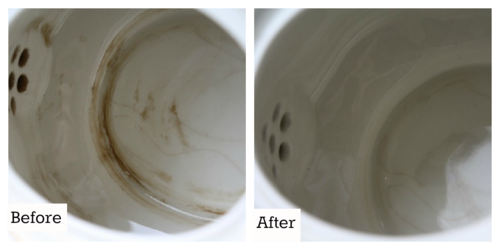 Removing Tea Stains - #yesterdayontuesday #removingteastains
