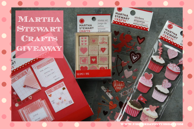 Martha Stewart Crafts Giveaway