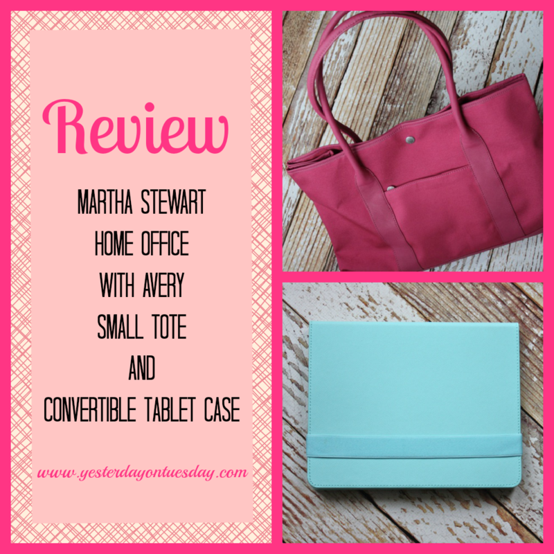 Review: Martha Stewart Home Office with Avery Tote & Tablet Case