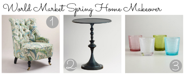 Spruce up your Home for Spring with World Market
