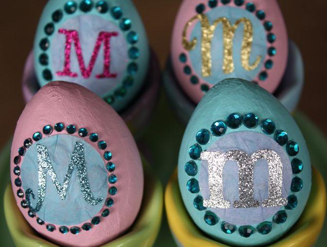 Simple yet stunning Easter eggs