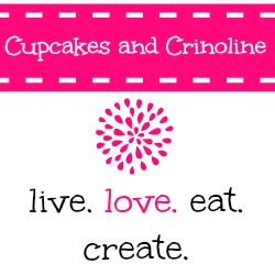 Button for Cupcakes and Crinoline