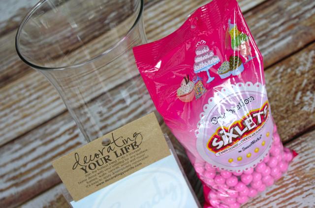 Glass Candy Jar Supplies