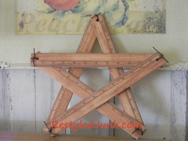 Crafting a ruler star