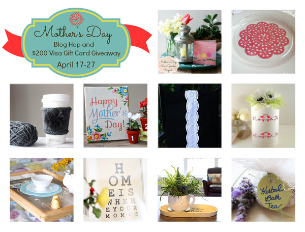 Crafty Mother's Day Gift Ideas and Giveaway