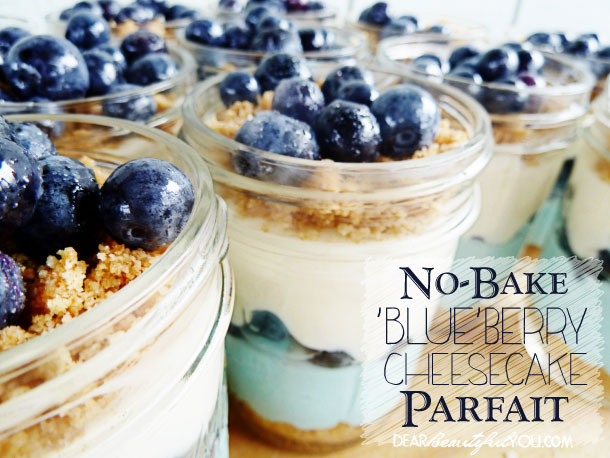 Blueberry Cheesecake Parfait Recipe