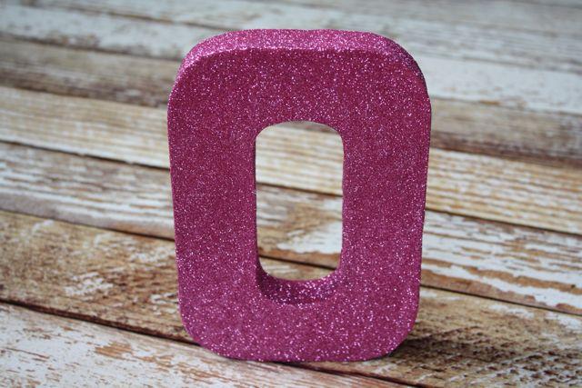 DIY Glitter Letter