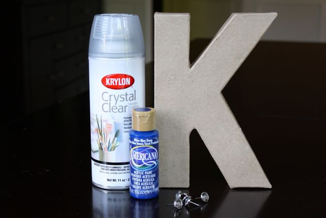 How to make a Rhinestone Letter
