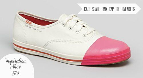 Keds Pink Cap Toe
