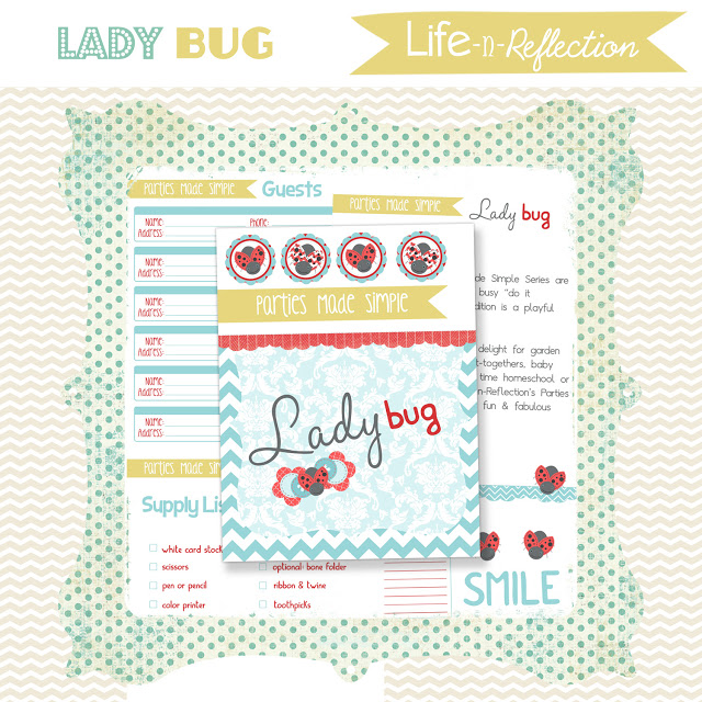 Lady Bug Party Printables