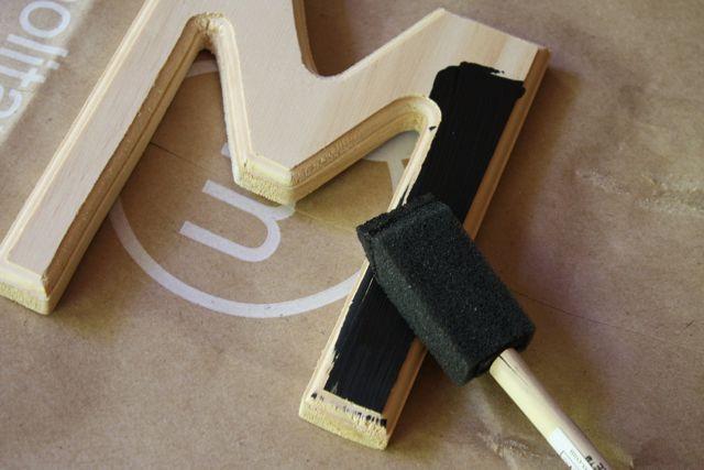 Scrabble Tile Decor