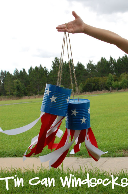 4th of July Windsocks