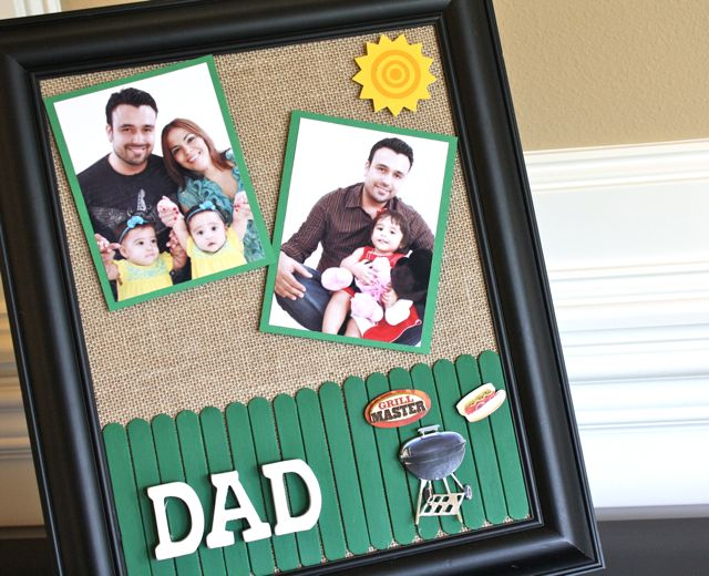 Easy Father's Day Frame