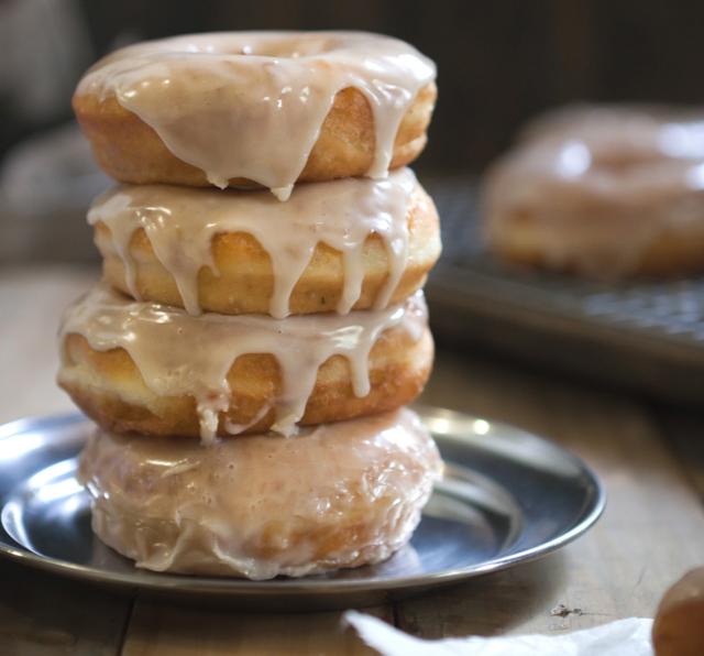 Citrus Thyme Potato Doughnuts