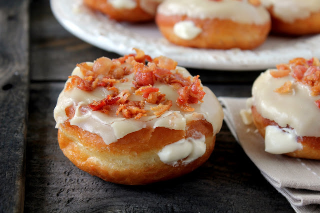 Maple Bacon Doughnuts