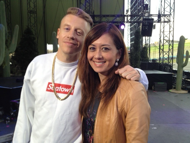 Malia and Macklemore 1