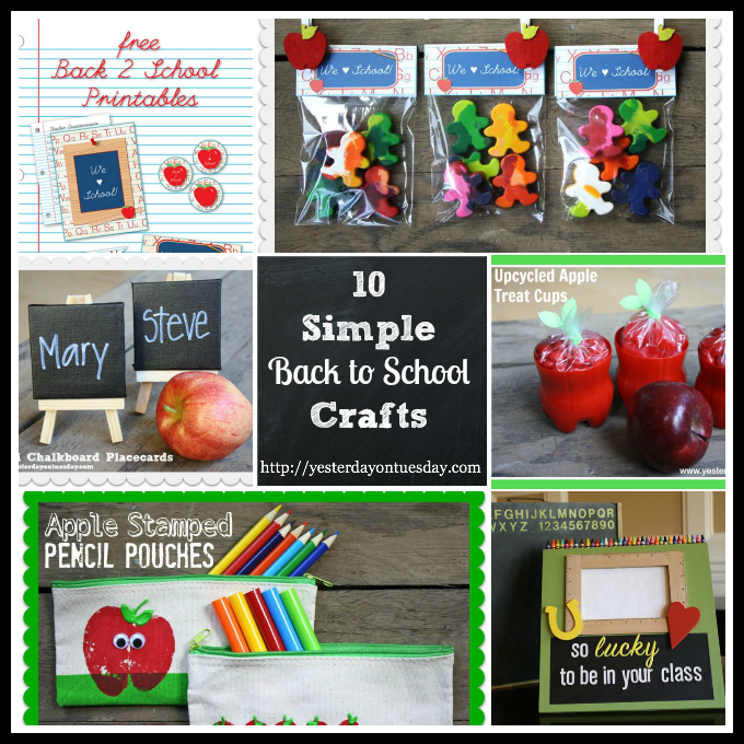 Back to School Crafts