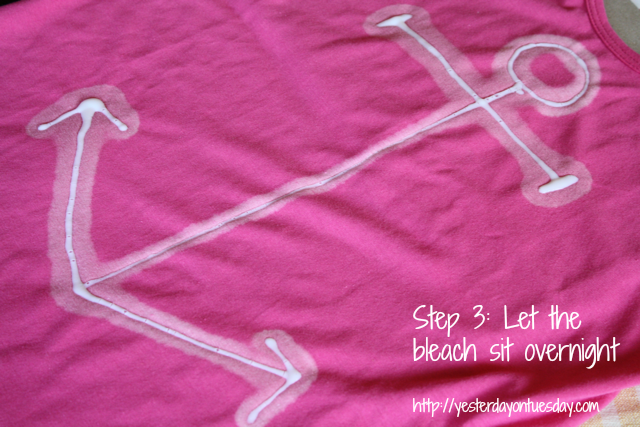 DIY Anchor Tank Top
