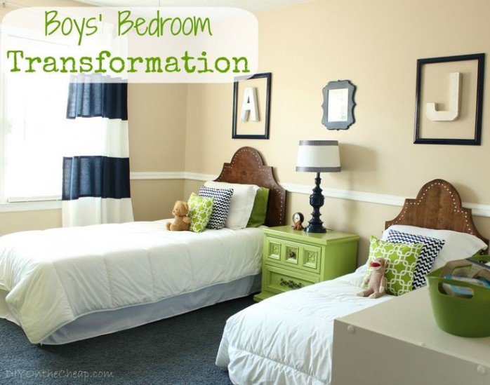 Boy's Bedroom Transformation