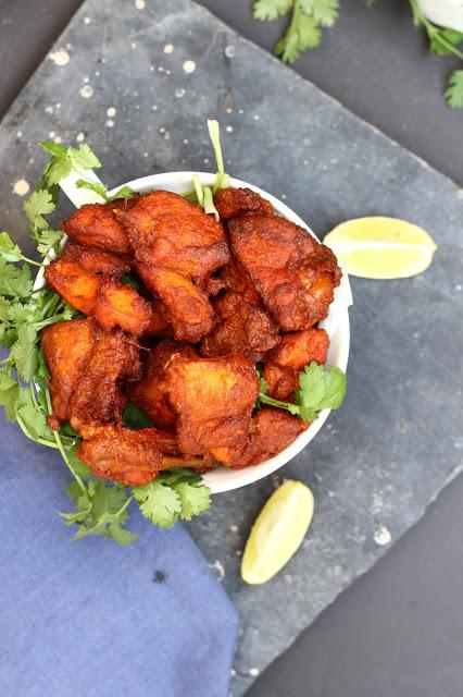 Fried Chicken Kabobs