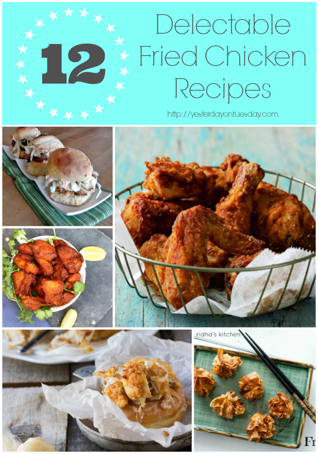 Recipes for Fried Chicken