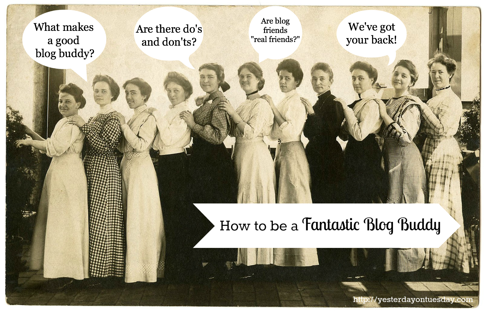 How to be a Fantastic Blog Buddy