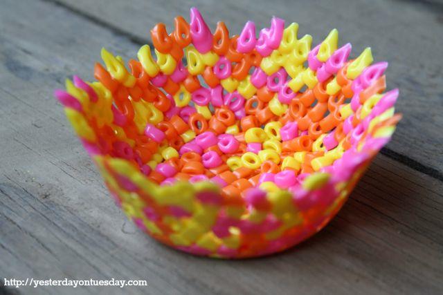 Perler Bead Bowls